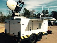 Squire Tech's state-of-the-art pCom Satellite Communications Trailer is the #1 trusted platform used by agencies around the world.  www.SquireTechSolutions.com