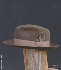 Biltmore Royal Fedora Hat by Dorfman Pacific