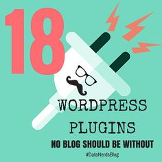 [Blog Post] Whether you're starting your first blog or you're a seasoned pro looking for something new we've created the ultimate list of Wordpress plugins no blog should ever be without!  Come see  the list at datanerds.com/blog it's got everything from spam blockers to the best of the best in SEO!