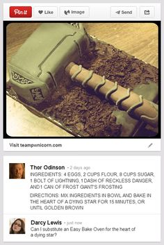 What Happens When Thor Discovers The Internet? (click through for more)