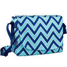 Wildkin Laptop Messenger Bag - Kids, Blue