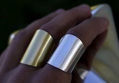 ROBO #rings, #handmade by #Pako #korut. Lipstick, Rings, Handmade, Beauty, Lipsticks, Hand Made, Ring, Jewelry Rings, Beauty Illustration
