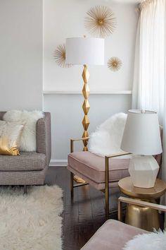 Design Story: Crafting Carolineu0027s D.C. Condo Home. Gold BedroomBedroom ...