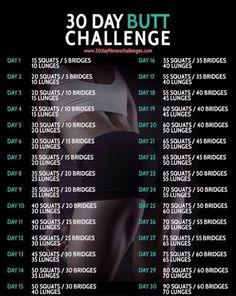 30 days butt challenge