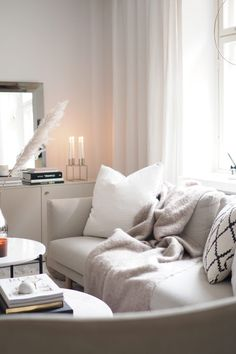 Lets Stay Home, Decorating Coffee Tables, New Homes, House Design, Couch, Living Room, Elegant, Interior, Furniture