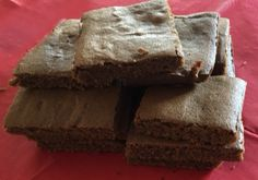 These rich treacly gingerbread squares go great with a cup of tea! Or even with ice cream, custard or extra thick cream. Ingredients 90g butter 55g muscovado sugar 5tbsp black treacle 1 egg white 1...