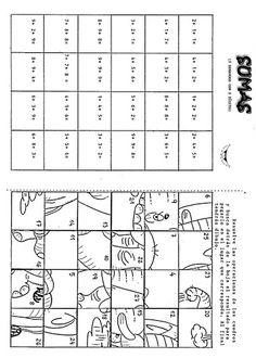 Webová alba Picasa - pracovní listy: počítej a přikládej výsledky - pokud jsi počítal správně, poskládá se obrázek.