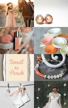 Sweet as A Peach by Bill and Jess on Etsy--Pinned with TreasuryPin.com