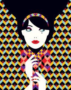 Malika Favre  http://thevisualfemale.wordpress.com/2013/11/28/illustrators-kelly-thompson-looks-up-to/