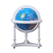 Mini Scale Globe Miniature With Stand For 1:12 Dollhouse Furniture(Hong Kong)
