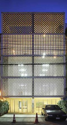 Shop houses design transformation by home design games for mac Brick Facade, Facade House, Facade Design, Exterior Design, Shop Front Design, House Design, Brick Architecture, Installation Architecture, Shop House Plans