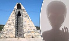 A MEXICAN peasant farmer has claimed he built a pyramid in the desert on the orders of an extraterrestrial from a faraway place.