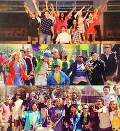Glee Through The Seasons
