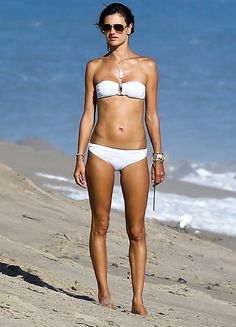Alessandra Ambrosio Shows Us How to Look White Hot in a Bikini  #InStyle