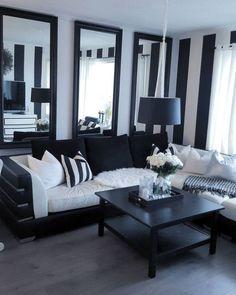 Black White And Silver Living Room Decor Home Decoration Design Ideas