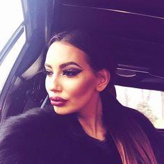 Stylish Katarina Grujić Serbian singer Fashion addict beautiful big lips #katarina #grujic #celebsaurus #barbiesaurus #biglips www.positivethesaurus.com