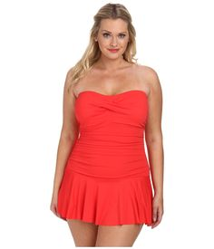 lauren-by-ralph-lauren-bright-coral-plus-size-laguna-solids-twist-shirred-skirted-slimming-fit-one-piece-pink-product-3-873041406-normal