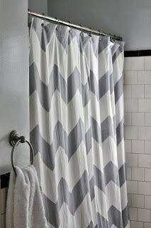 grey chevron shower curtains. Plain Grey To Grey Chevron Shower Curtains N