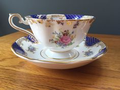 Royal Albert Empress Series Isabella Tea Cup and Saucer | eBay