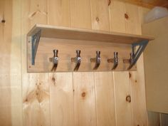 Picture of Carpenter themed fathers day coat rack