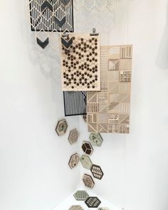 We have given on of our 'Trend Bible Selects' to Theo Riviere from Leeds College of Art for his innovative use of materials and developing these into print designs Leeds College Of Art, Home Trends, News Design, Innovation, Print Design, Designers, Bible, Holiday Decor, Home Decor