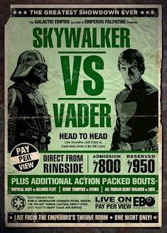 Retro Star Wars Poster