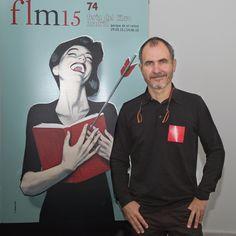 20/05/15. Fernando Vicente, autor del cartel. Foto © Jorge Aparicio/ FLM15
