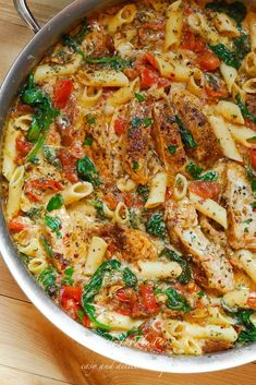 As penne a highly consumed pasta, we're glad to write about it. And, today's post is about 20 penne pasta recipes that will rejoice your taste buds. If you have cravings for penne (and other pasta), these are the way to go. Getting their recipes on h Chicken Penne Pasta, Chicken Pasta Recipes, Penne Noodles, Spinach Pasta Recipes, Chicken Noodles, Healthy Chicken Pasta, Pasta Meals, Veggie Noodles, Shrimp Pasta