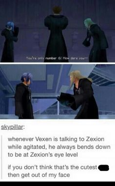 Sometimes it dawns on me how much I love the people in Organization XIII :P