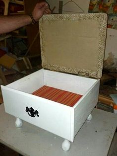 Drawer stool