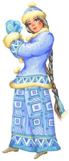 Russian Snow Maiden