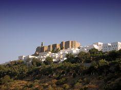 Patmos Island castle, Greece