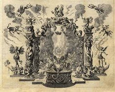 Stage Designs For The Golden Apple, 1667