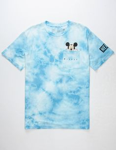 NEFF Disney Collection Peek Mickey Mens Pocket Tee