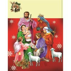 Image Library Designs Original illustrations occasions Christmas greetings cards Christmas Greeting Cards, Christmas Greetings, Library Design, Holy Night, Illustrations, Catholic, The Originals, Winter, Painting
