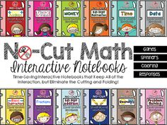 2nd Grade Must-Haves {No-Cut Interactive Notebooks}