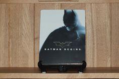 Front of Japanese Batman Begins bluray steelbook