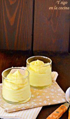y sigo en la cocina: Mousse de mango