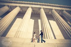 Not a huge fan of the filters, but what a perfectly DC engagement shoot!!
