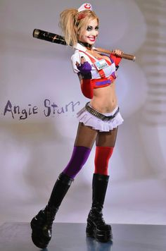 Character: Harley Quinn (Nurse) / From: Warner Bros. Interactive Entertainment's 'Batman: Arkham Asylum' Video Game / Cosplayer: Angie Starr