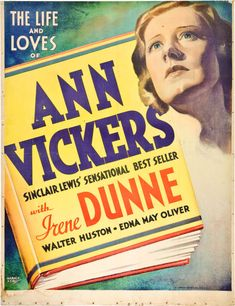 Ann Vickers is an odd sort of film. Description from pinterest.com. I searched for this on bing.com/images