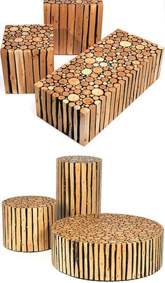 Redefining Rustic Materials: 6 Modern Log Furniture Makers