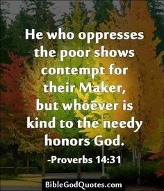"NTS: remember & make a conscious practice of helping poor/needy w/out allowing the greed of 1 or 2 ""always needy"" to take all the resources for themselves leaving the rest of the needy in need-spread your wealth to those in need in equal fashion but not to the point you & your fam are in need!"