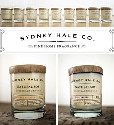 Love these wedding candles, since you are doing mason jars, you could use that instead!!!