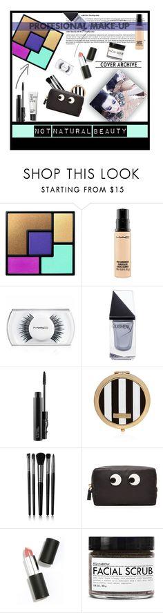 """Untitled #169"" by dragansabina on Polyvore featuring beauty, Yves Saint Laurent, MAC Cosmetics, GUiSHEM, Henri Bendel, Illamasqua, Anya Hindmarch, Sigma Beauty and Fig+Yarrow"