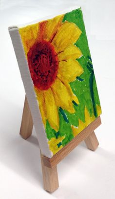 Art Projects for Kids: Mini Van Gogh Painting