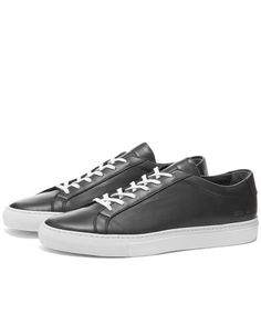 Common Projects Sneakers for Men Black High Top Shoes, Black High Tops, Classic Sneakers, High Top Sneakers, Common Projects, Vintage Leather, Leather Sneakers, Minimalist Fashion, Converse
