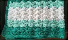 Shell Stitch Baby Blanket Free Crochet Pattern | Crafts Ideas