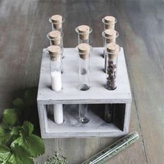 Tube Vases with Stand