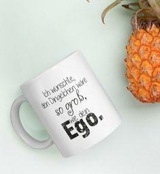 Manchmal sollte man die nicht so schönen Dinge im Leben mit etwas Humor würzen... 🤪 daher bitte nicht allzu ernst nehmen 😇 Ceramics, Humor, Mugs, Tableware, Shirts, Do Your Thing, You're Welcome, Life, Ceramica
